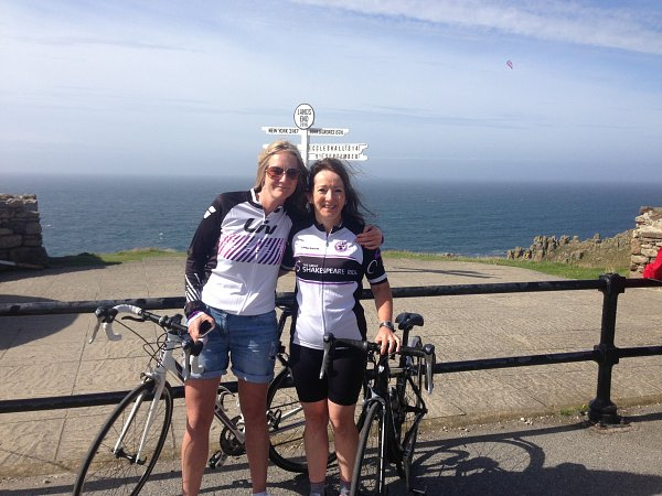 Long distance cycle challenge - Carolyn Skeltons epic ride