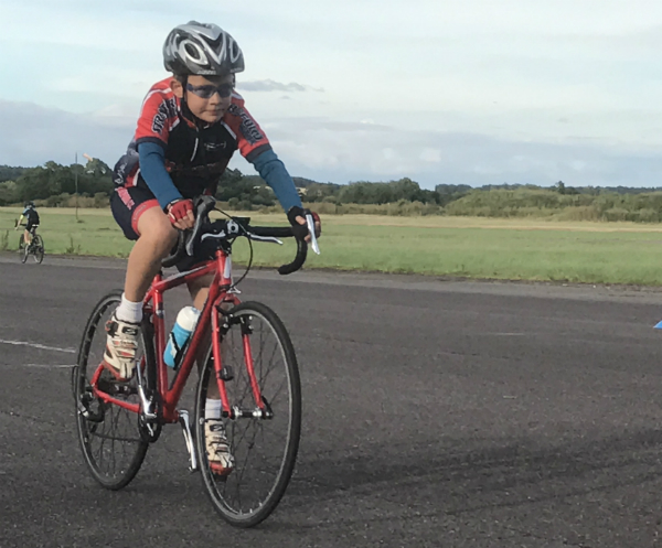 Stratford Cycling Club Juniors training